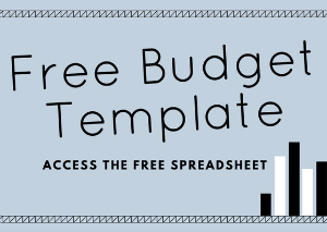 Free budgeting template picture