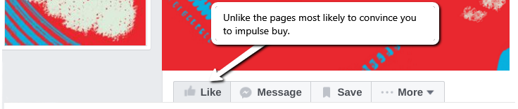 Unlike pages